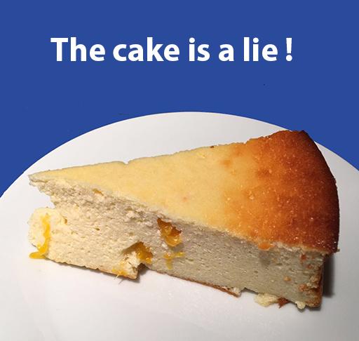 The cake is a lie v2